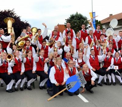 Musikverein Höflein 2016 - Marschwertung